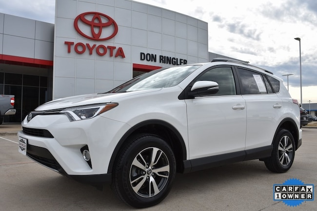 Certified 2017 Toyota RAV4 XLE SUV for sale in Temple, TX