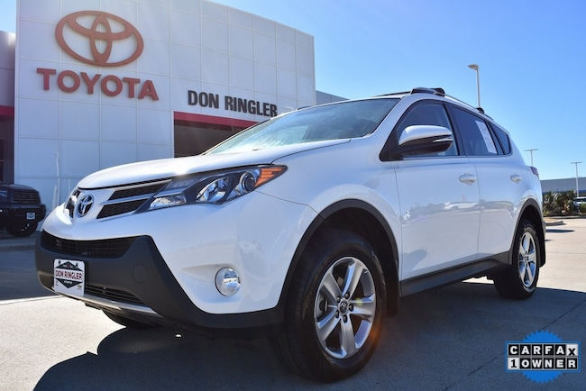 Certified 2015 Toyota RAV4 XLE SUV for sale in Temple, TX