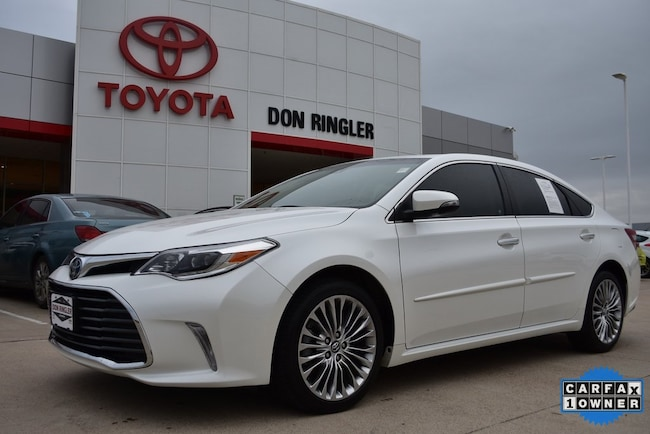 Certified 2017 Toyota Avalon Limited Sedan for sale in Temple, TX