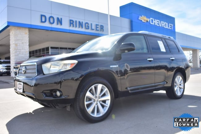 Used 2008 Toyota Highlander Hybrid Limited SUV for sale in Temple, TX