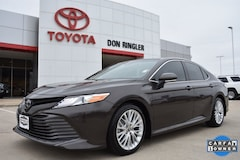 Certified Pre-Owned 2018 Toyota Camry XLE Sedan for sale in Temple TX