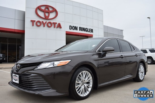 Certified 2018 Toyota Camry XLE Sedan for sale in Temple, TX