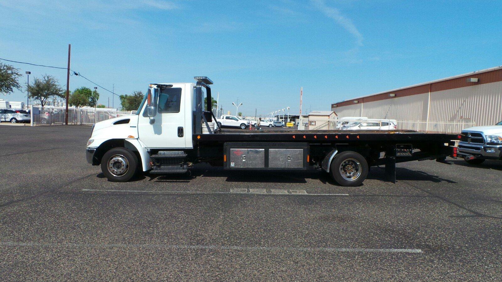 2011 International TOW Truck 21 STEEL ROLLBACK