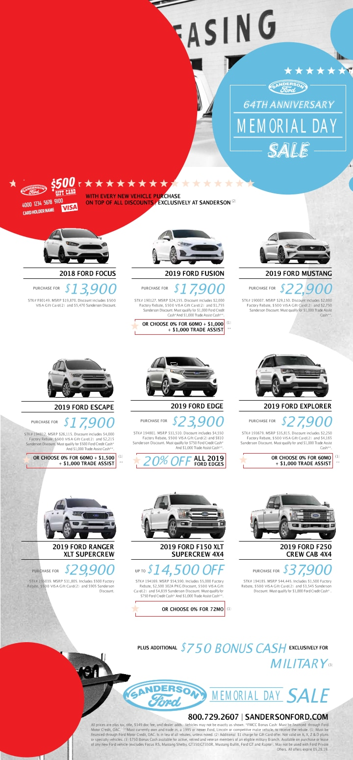 Current Print Ad Sanderson Ford
