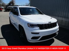 New 2019 Jeep Grand Cherokee LIMITED X 4X4 Sport Utility 1C4RJFBG5KC678570 for sale in cadillac mi