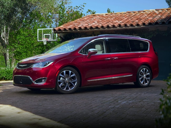 Used 2017 Chrysler Pacifica Lx For Sale In Cadillac Mi Near Big