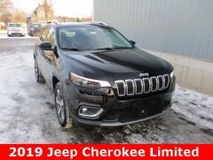 New 2019 Jeep Cherokee LIMITED 4X4 Sport Utility 1C4PJMDNXKD291868 in Cadillac, MI