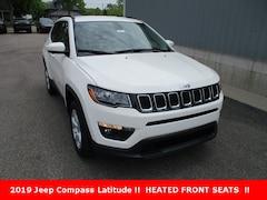 New 2019 Jeep Compass Latitude SUV 3C4NJDBB1KT684197 for sale in cadillac mi