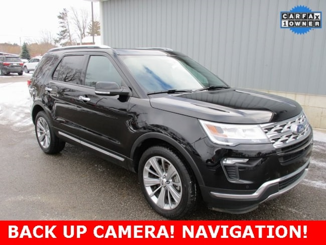 Used 2018 Ford Explorer Limited SUV in Cadillac, MI