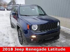 New 2018 Jeep Renegade ALTITUDE 4X4 Sport Utility ZACCJBBB2JPH65646 for sale in cadillac mi