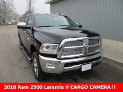 New 2018 Ram 2500 LARAMIE CREW CAB 4X4 6'4 BOX Crew Cab 3C6UR5FJ3JG418030 for sale in cadillac mi