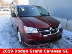 New 2019 Dodge Grand Caravan SE Passenger Van 2C4RDGBGXKR521850 in Cadillac, MI