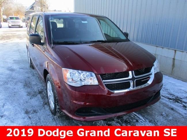New 2019 Dodge Grand Caravan SE Passenger Van in Cadillac, MI