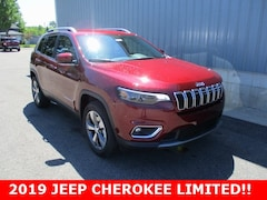New 2019 Jeep Cherokee LIMITED 4X4 Sport Utility 1C4PJMDX2KD469435 for sale in cadillac mi