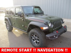 new 2021 Jeep Wrangler UNLIMITED RUBICON 4X4 Sport Utility for sale