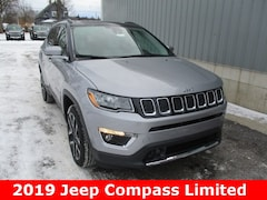 New 2019 Jeep Compass LIMITED 4X4 Sport Utility 3C4NJDCB3KT647490 for sale in cadillac mi
