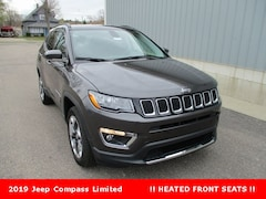 New 2019 Jeep Compass Limited SUV 3C4NJDCB2KT665964 for sale in cadillac mi
