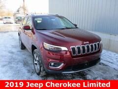 New 2019 Jeep Cherokee LIMITED 4X4 Sport Utility 1C4PJMDN1KD142197 in Cadillac, MI