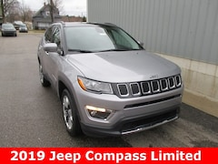 New 2019 Jeep Compass LIMITED 4X4 Sport Utility 3C4NJDCB0KT741746 for sale in cadillac mi
