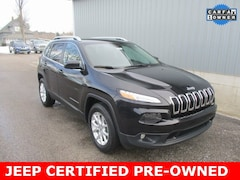 Certified Pre-Owned 2016 Jeep Cherokee Latitude SUV for sale in Cadillac, MI