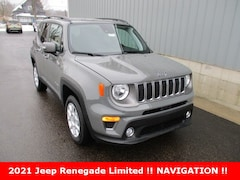 new 2021 Jeep Renegade LIMITED 4X4 Sport Utility for sale