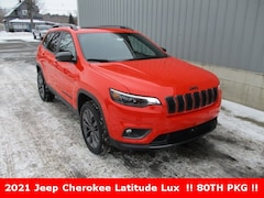 new 2021 Jeep Cherokee 80TH ANNIVERSARY 4X4 Sport Utility for sale