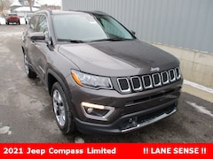 new 2021 Jeep Compass LIMITED 4X4 Sport Utility for sale in cadillac mi