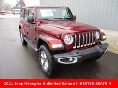 new 2021 Jeep Wrangler UNLIMITED SAHARA 4X4 Sport Utility for sale