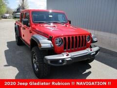 New 2020 Jeep Gladiator RUBICON 4X4 Crew Cab 1C6JJTBG3LL101279 for sale in cadillac mi