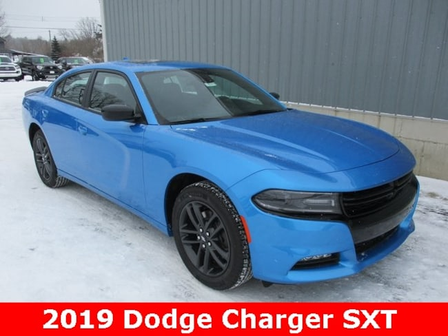 New 2019 Dodge Charger SXT AWD Sedan in Cadillac, MI
