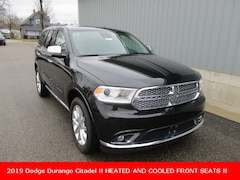 New 2019 Dodge Durango CITADEL AWD Sport Utility 1C4RDJEG4KC531131 for sale in cadillac mi