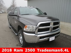 New 2018 Ram 2500 TRADESMAN CREW CAB 4X4 6'4 BOX Crew Cab 3C6UR5CJXJG380123 for sale in cadillac mi