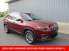 New 2019 Jeep Cherokee LATITUDE PLUS 4X4 Sport Utility 1C4PJMLB3KD469479 for sale in cadillac mi