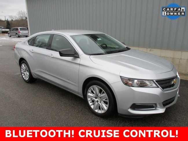 Used 2014 Chevrolet Impala LS Sedan in Cadillac, MI