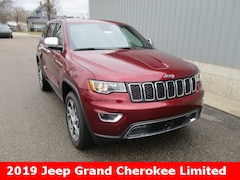 New 2019 Jeep Grand Cherokee LIMITED 4X4 Sport Utility 1C4RJFBG5KC539202 for sale in cadillac mi