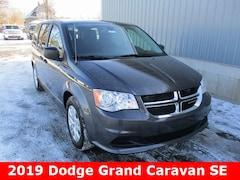 New 2019 Dodge Grand Caravan SE Passenger Van 2C4RDGBG4KR521844 in Cadillac, MI