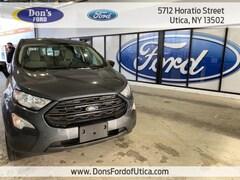 New 2020 Ford EcoSport S Crossover Utica NY