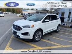 New 2021 Ford Edge Titanium Crossover Utica, NY