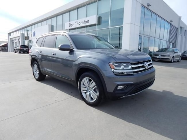 New 2019 Volkswagen Atlas 3.6L V6 SE w/Technology 4MOTION SUV for sale in Tulsa, OK