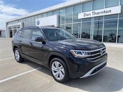 New 2021 Volkswagen Atlas 3.6L V6 SE w/Technology 4MOTION (2021.5) SUV for sale in Tulsa, OK