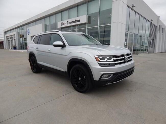 New 2019 Volkswagen Atlas 3.6L V6 SEL SUV for sale in Tulsa, OK
