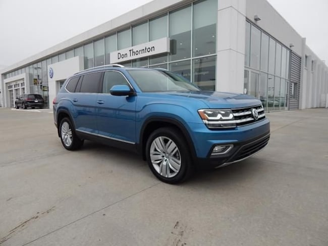New 2019 Volkswagen Atlas 3.6L V6 SEL Premium 4MOTION SUV for sale in Tulsa, OK