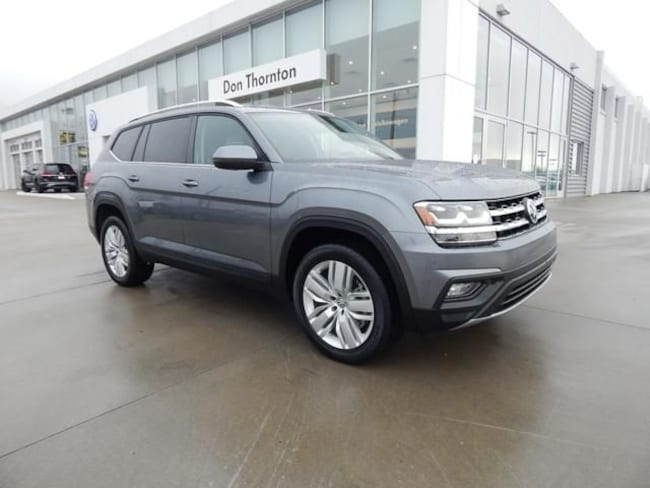 New 2019 Volkswagen Atlas 3.6L V6 SE w/Technology SUV for sale in Tulsa, OK