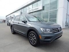 New 2021 Volkswagen Tiguan 2.0T SE SUV 3VV3B7AXXMM039842 MM039842 for sale in Tulsa, OK