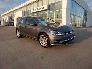 New 2019 Volkswagen Golf 1.4T SE Hatchback 3VWG57AU6KM012340 V4083 for sale in Tulsa, OK
