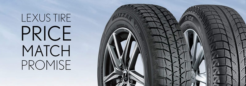 Lexus Tire Price Match Promise