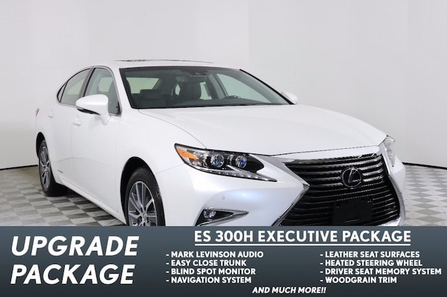 2018 LEXUS ES 300h EXECUTIVE PACKAGE Sedan