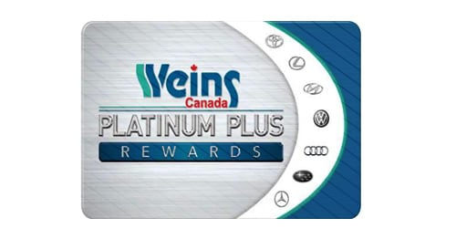 When it comes to points, more is better. Earn an additional 10% Weins Platinum Plus Rewards points on top of regular points when you purchase any TRD part or component. ^