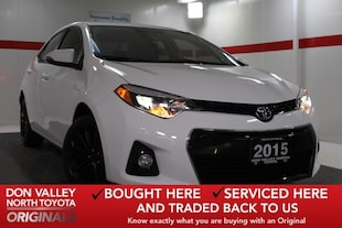 2015 Toyota Corolla S 50TH ANNIVERSARY SPECIAL EDITION Sedan