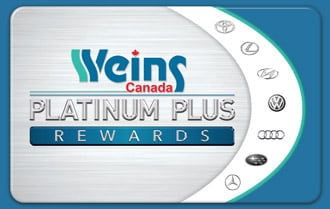 Weins Canada Platinum Plus Rewards Card